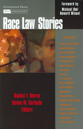 Race Law Stories   2008 edition cover