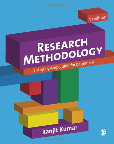 Research Methodology A Step-by-Step Guide for Beginners 3rd 2011 edition cover