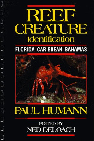 Reef Creature Identification 1st Edition : Florida, Caribbean, Bahamas 1st 1992 edition cover