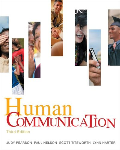 Human Communication  3rd 2008 edition cover