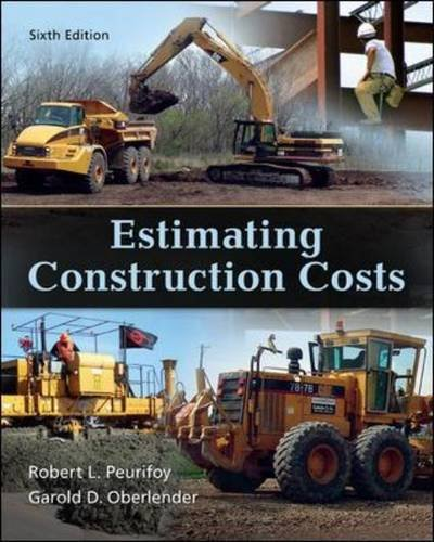 Estimating Construction Costs  6th 2014 edition cover