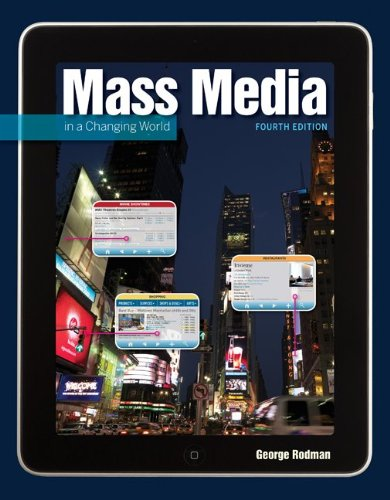 Mass Media in a Changing World  4th 2012 edition cover
