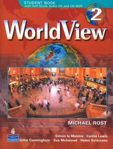 WorldView 2 with Self-Study Audio CD and CD-ROM   2007 edition cover
