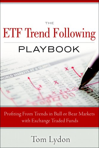 ETF Trend Following Playbook Profiting from Trends in Bull or Bear Markets with Exchange Traded Funds  2010 edition cover