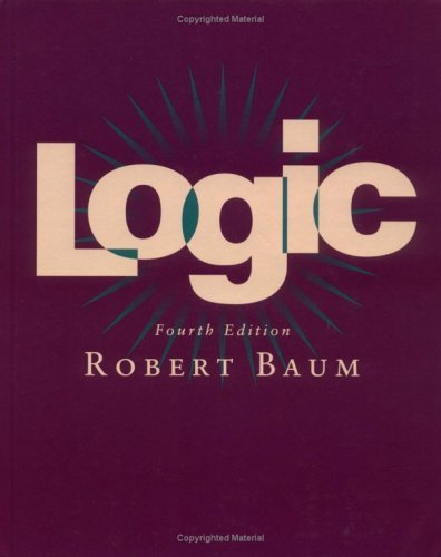 Logic  4th 1996 (Revised) edition cover