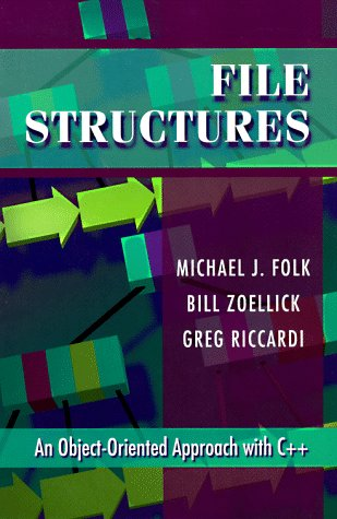 File Structures  3rd 1998 edition cover