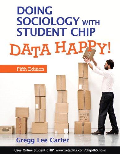 Data Happy! Doing Sociology with Student Chip 5th 2010 edition cover