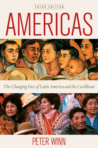 Americas The Changing Face of Latin America and the Caribbean 3rd 2005 edition cover