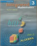 Integrated Mathematics  Teachers Edition, Instructors Manual, etc.  9780618074013 Front Cover