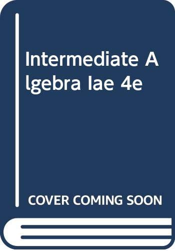 Intermediate Algebra Everyday Explorations 4th 2008 9780618920013 Front Cover
