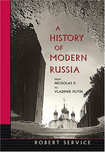 Our Book Is a New Edition of a History of Twentieth-Century Russia; We Changed Title to a History of Modern Russia  2nd 2003 (Revised) edition cover