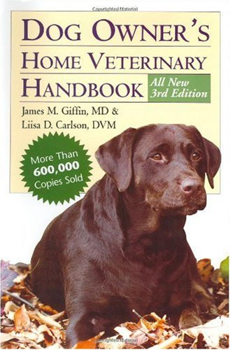 Dog Owner's Home Veterinary Handbook  3rd 2000 (Revised) edition cover
