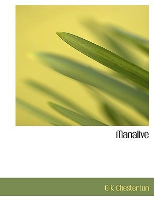 Manalive  N/A 9781115318013 Front Cover