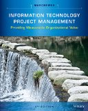 Information Technology Project Management:   2014 edition cover