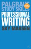Professional Writing  3rd 2013 edition cover