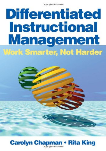 Differentiated Instructional Management Work Smarter, Not Harder  2008 edition cover