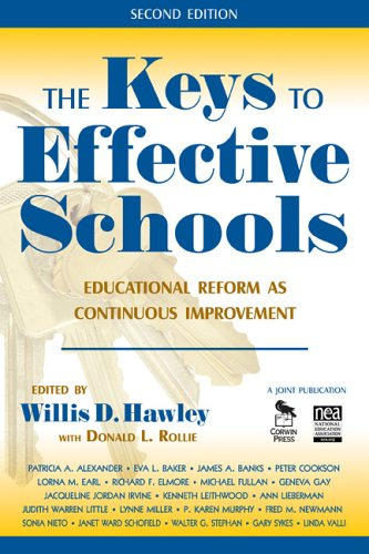 Keys to Effective Schools Educational Reform as Continuous Improvement 2nd 2007 (Revised) edition cover
