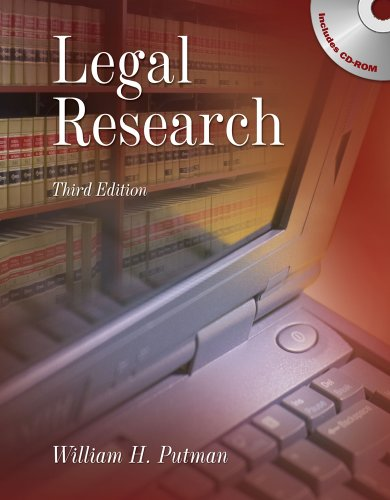 Legal Research  2nd 2010 edition cover