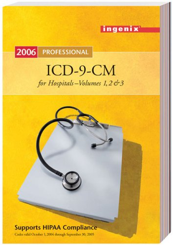 ICD-9-CM Professional for Hospitals, 2006  2005 edition cover