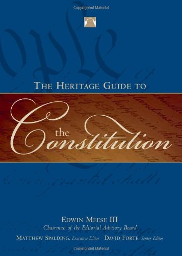 Heritage Guide to the Constitution   2005 edition cover