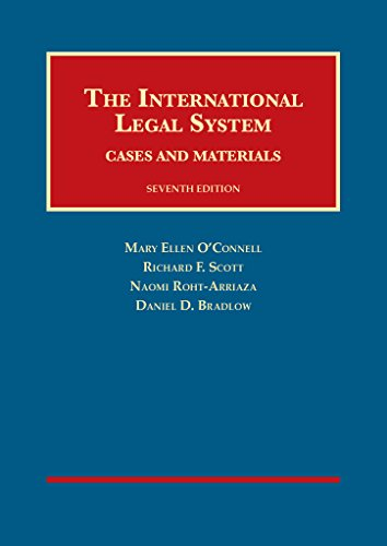 International Legal System Cases and Materials 7th 2015 9781609303013 Front Cover