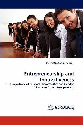 Entrepreneurship and Innovativeness N/A 9783843350013 Front Cover