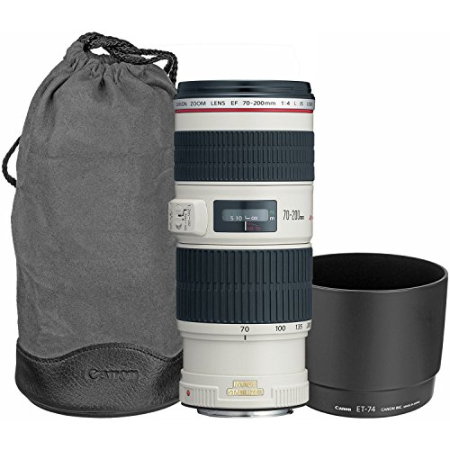 Canon EF 70-200mm f/4L USM Telephoto Zoom Lens for Canon SLR Cameras product image