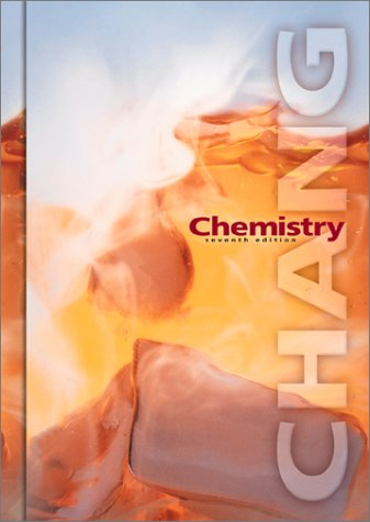 Chemistry 7th 2002 edition cover