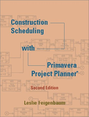 Construction Scheduling with Primavera Project Planner  2nd 2002 edition cover