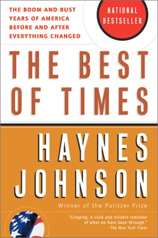 Best of Times The Boom and Bust Years of America Before and after Everything Changed N/A edition cover