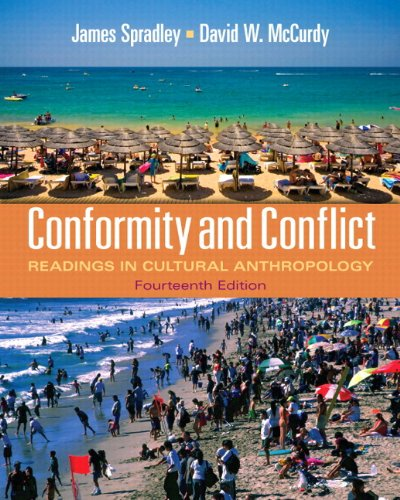 Conformity and Conflict Readings in Cultural Anthropology 14th 2012 edition cover