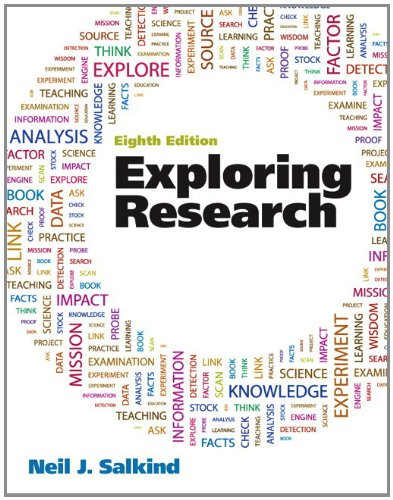 Exploring Research  8th 2012 edition cover