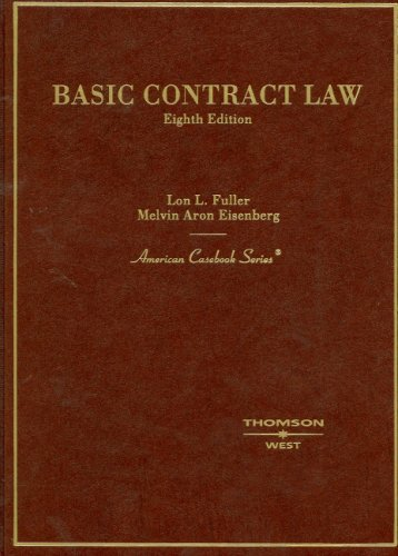 Basic Contract Law  8th 2006 (Revised) edition cover