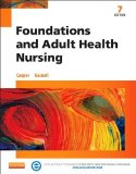 Foundations and Adult Health Nursing  7th 2015 edition cover