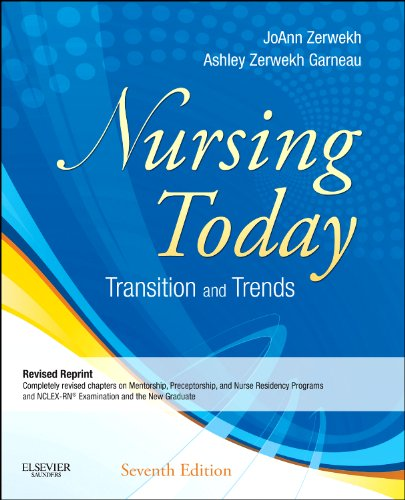 Nursing Today - Revised Reprint Transitions and Trends 7th 2013 edition cover