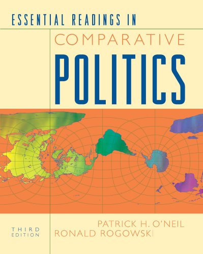 Essential Readings in Comparative Politics  3rd 2010 edition cover
