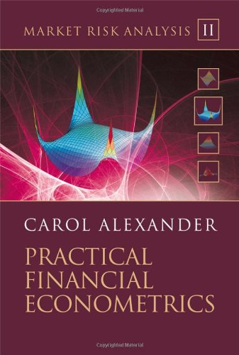 Market Risk Analysis Practical Financial Econometrics  2008 edition cover