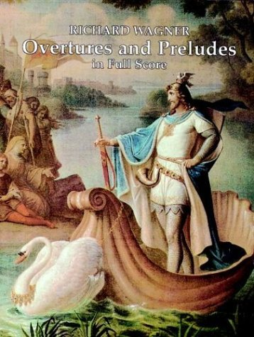 Overtures and Preludes in Full Score  N/A edition cover