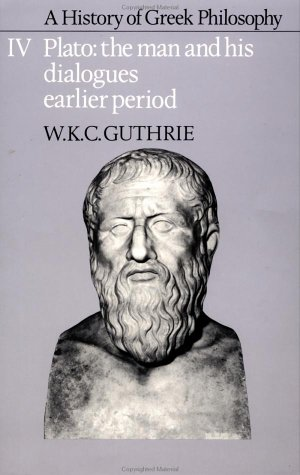 History of Greek Philosophy   1986 edition cover