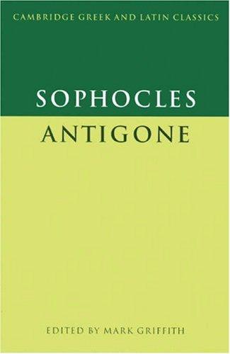 Antigone   1999 edition cover