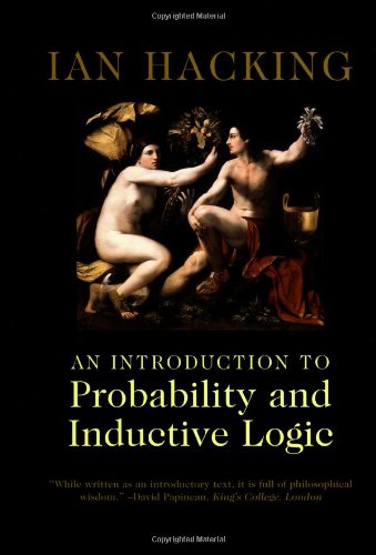 Introduction to Probability and Inductive Logic   2001 edition cover