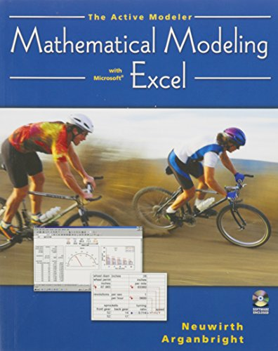 Active Modeler Mathematical Modeling with Microsoft Excel  2004 9780534421014 Front Cover
