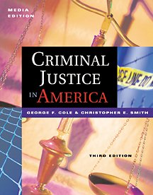 Criminal Justice in America  3rd 2002 9780534559014 Front Cover