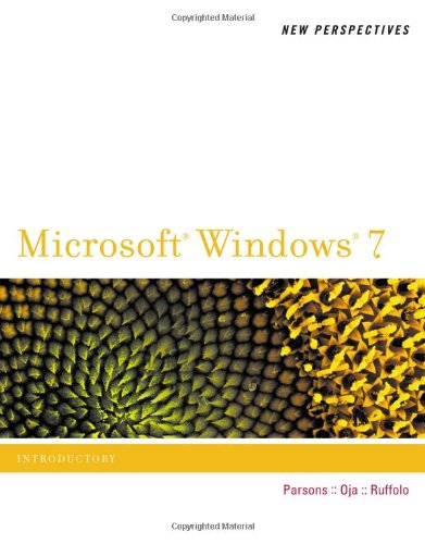 New Perspectives on Microsoft Windows 7, Introductory  2nd 2011 edition cover