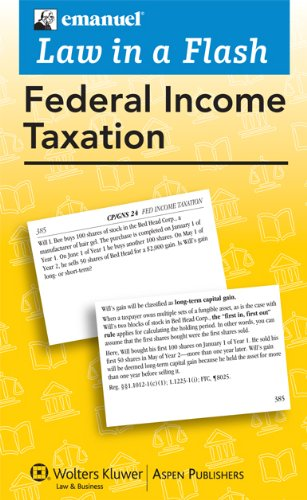 Federal Income Tax Liaf 2010  Student Manual, Study Guide, etc.  edition cover