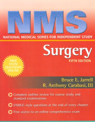 NMS Surgery  5th 2009 (Revised) edition cover