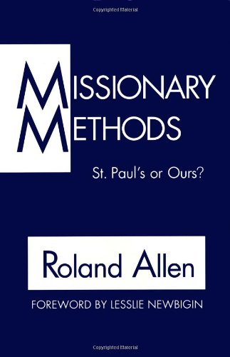 Missionary Methods St. Paul's or Ours?  1962 edition cover