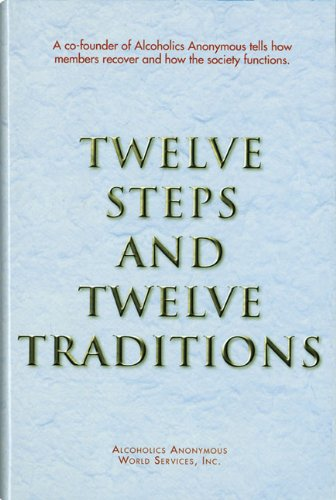 Twelve Steps and Twelve Traditions Trade Edition   2002 9780916856014 Front Cover