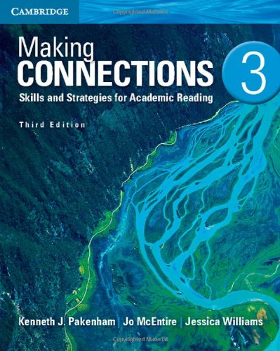 MAKING CONNECTIONS LEVEL 3 STUDENT'S BOOK 3RD EDITION  2nd 2013 (Revised) edition cover