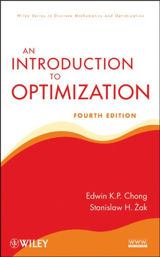Introduction to Optimization  4th 2013 edition cover